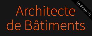 Architecte de Bâtiments